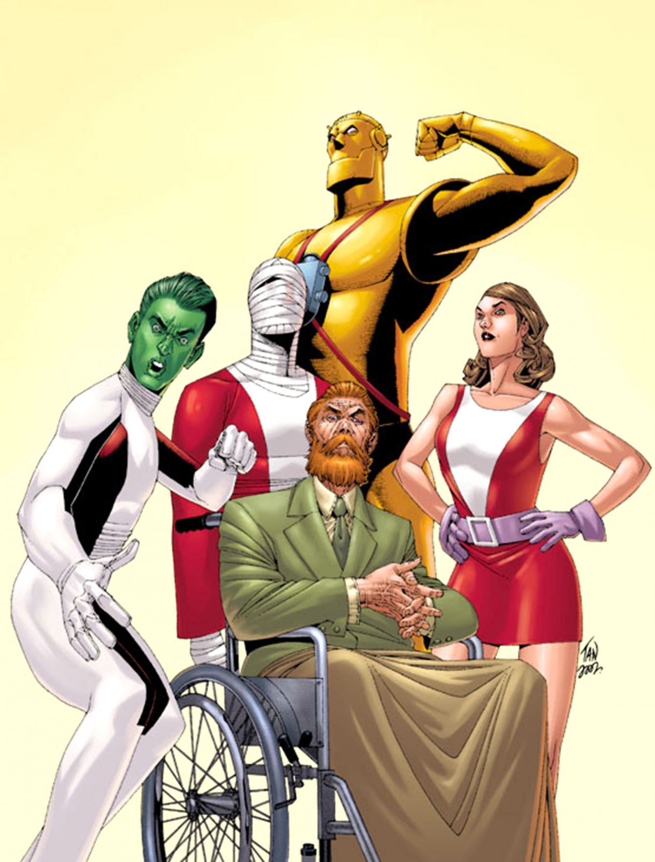 Doom Patrol Team - DC Comics