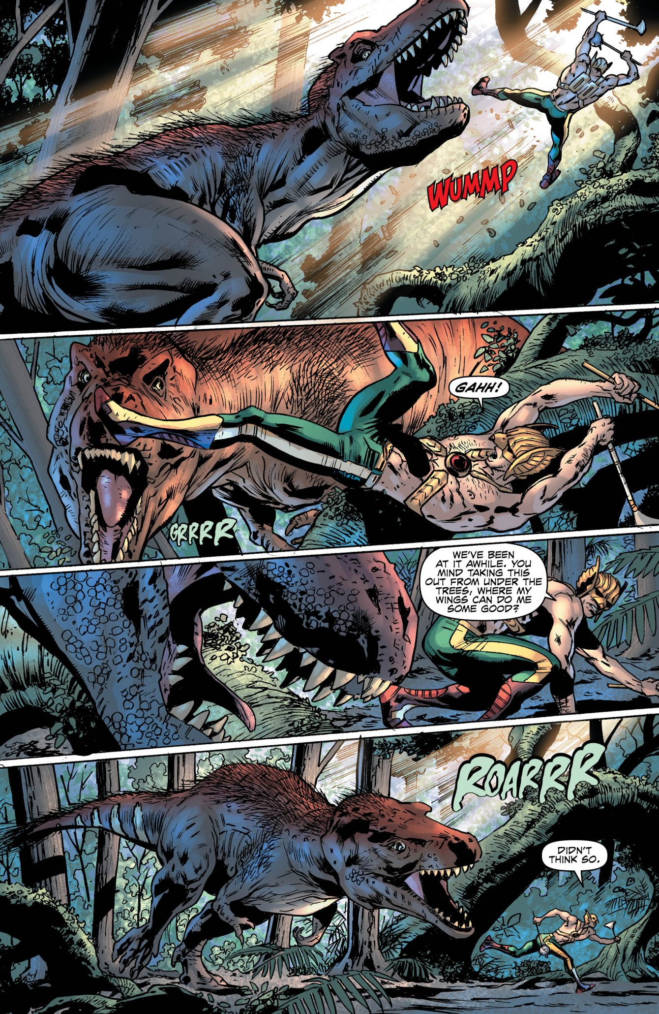 Hawkman #3 Preview Page - DC Comics