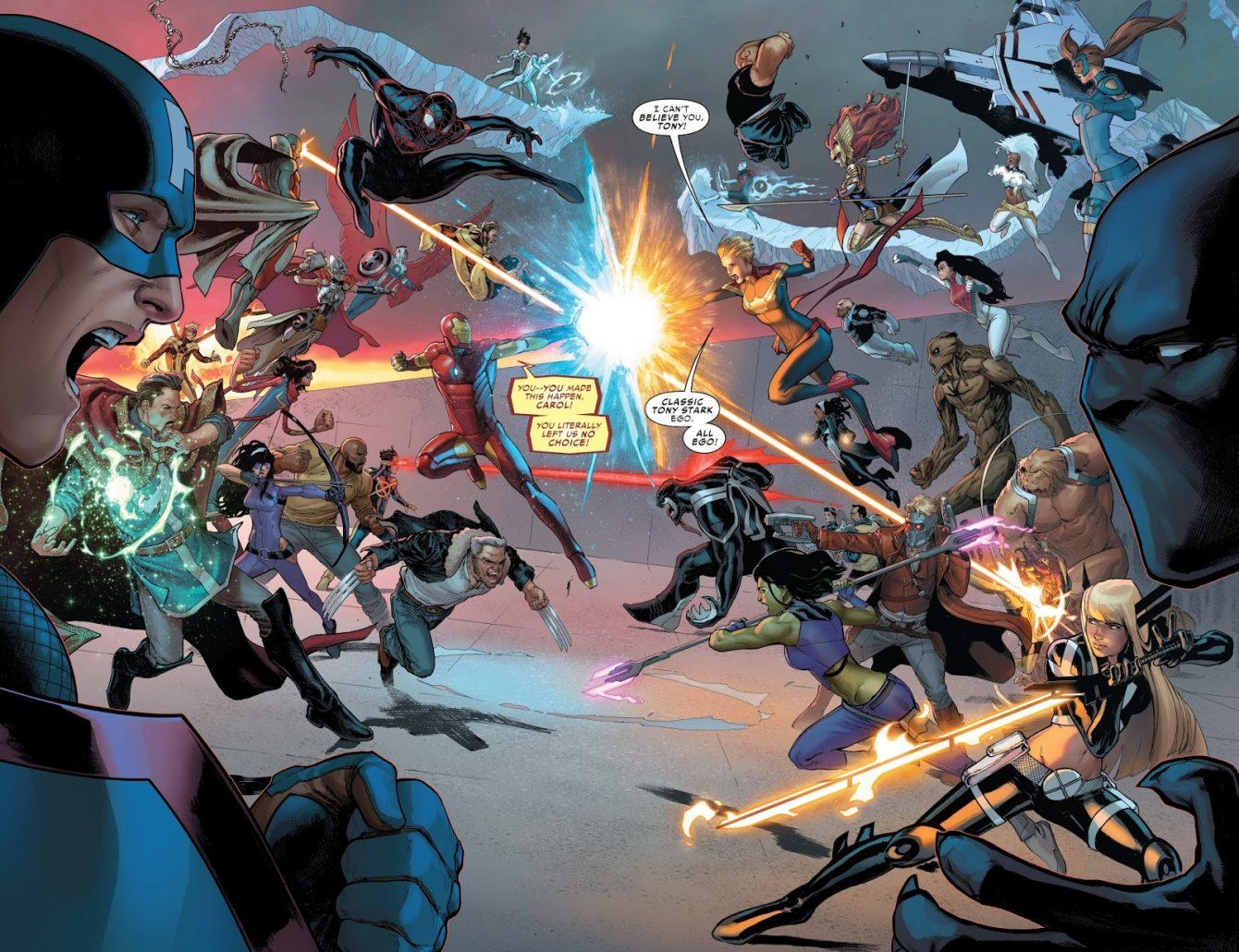 Captain Marvel Civil War II