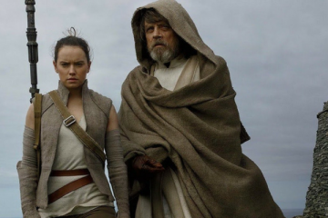 Star Wars Rey and Luke