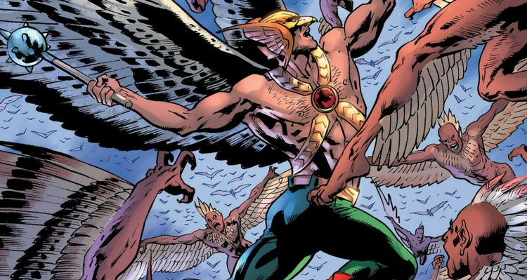 Hawkman #3 Cover - DC Comics