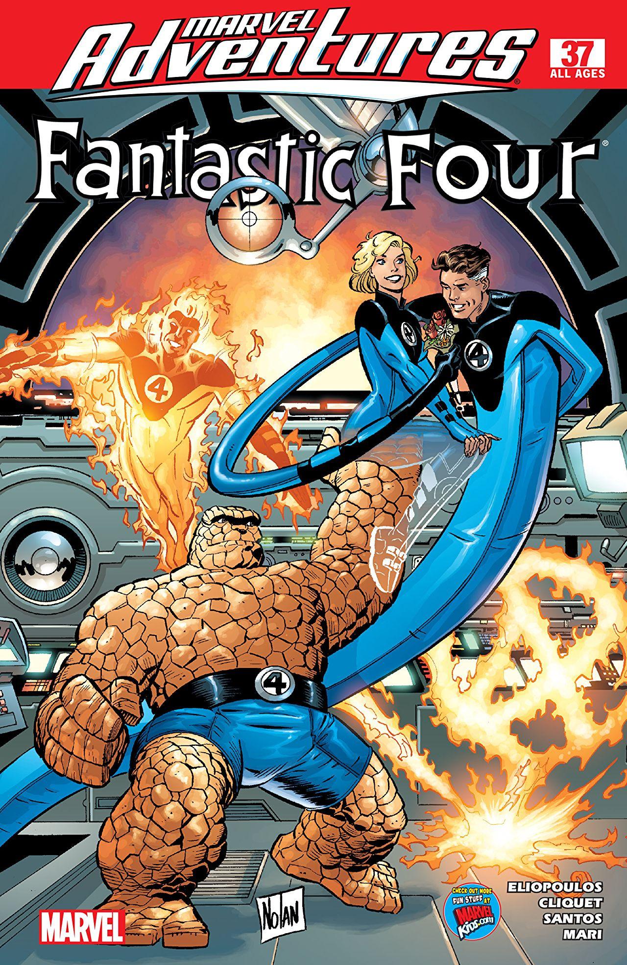 Marvel Adventures: Fantastic Four #37