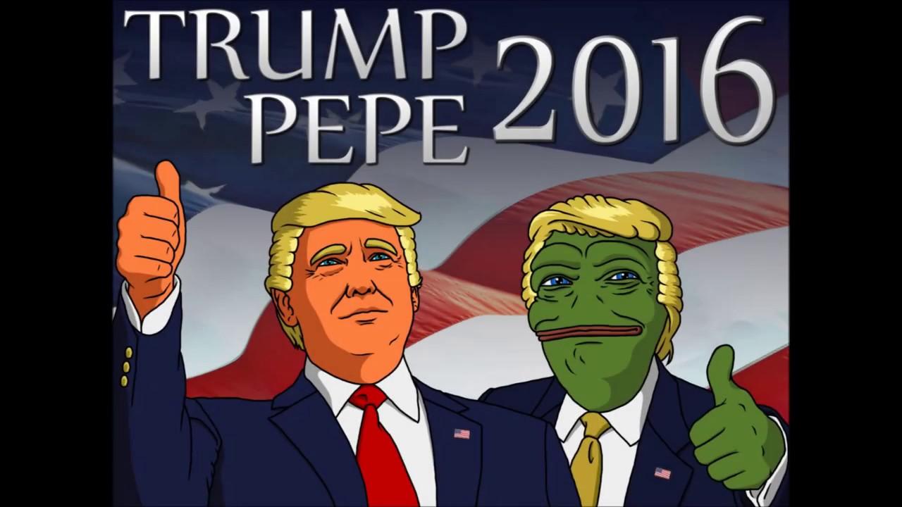 Trump & Pepe meme