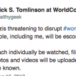 Author Patrick S. Tomlinson Threatening to Call People Nazis at WorldCon