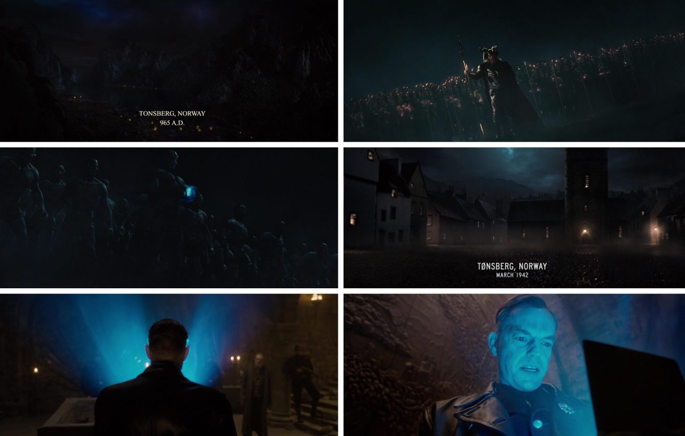 Tesseract Infinity Stone connection