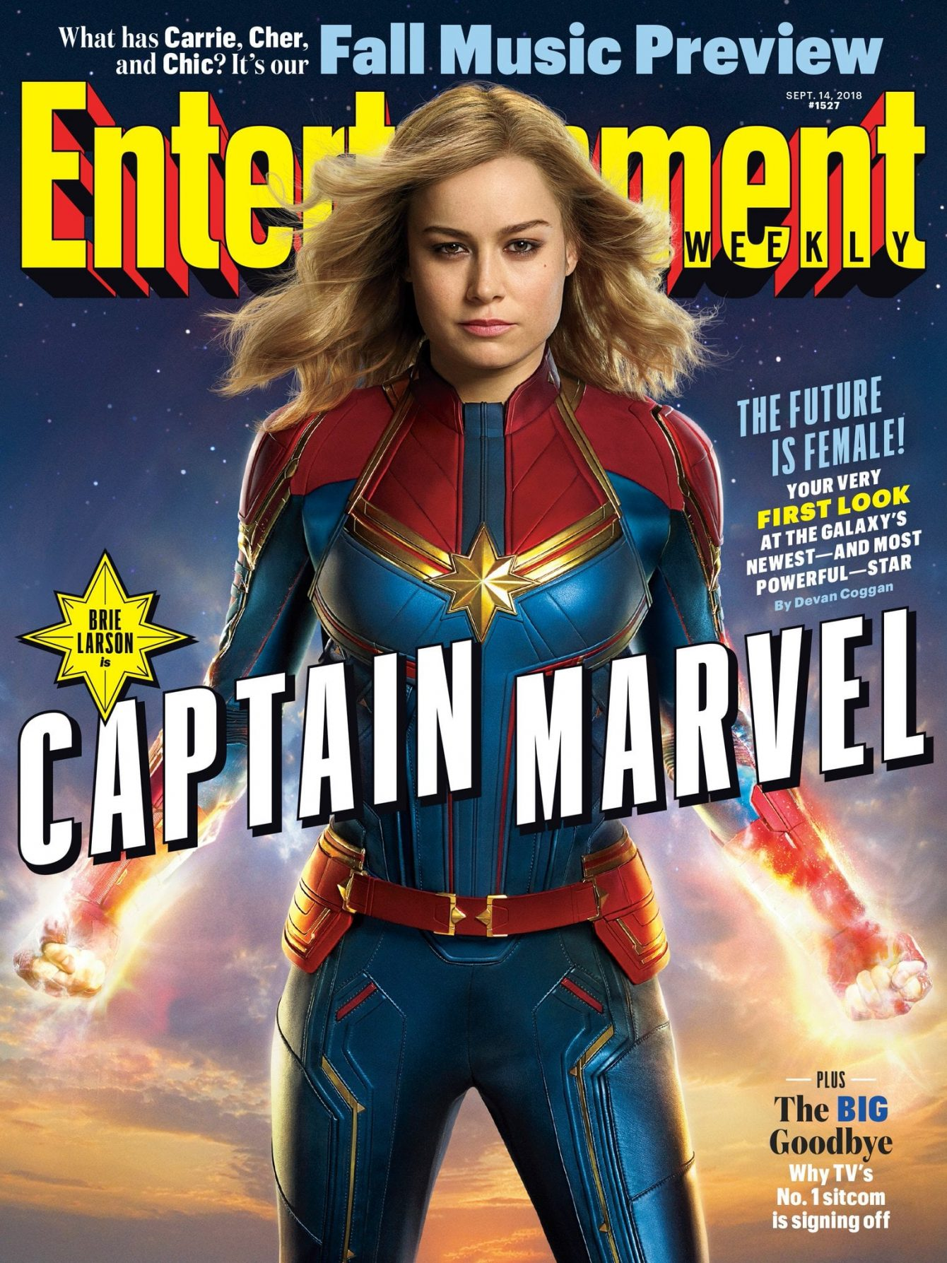 marvel adopts divisive feminist slogan to promote captain marvel
