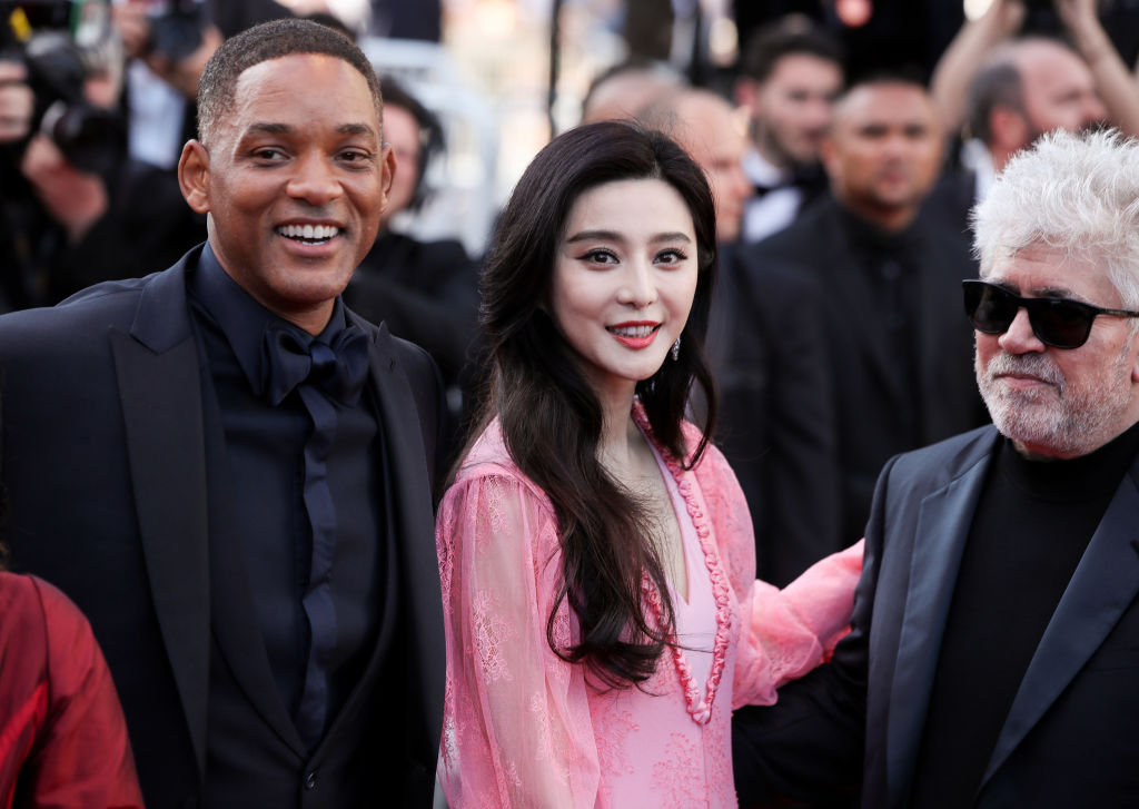 Will Smith and Fan Bingbing