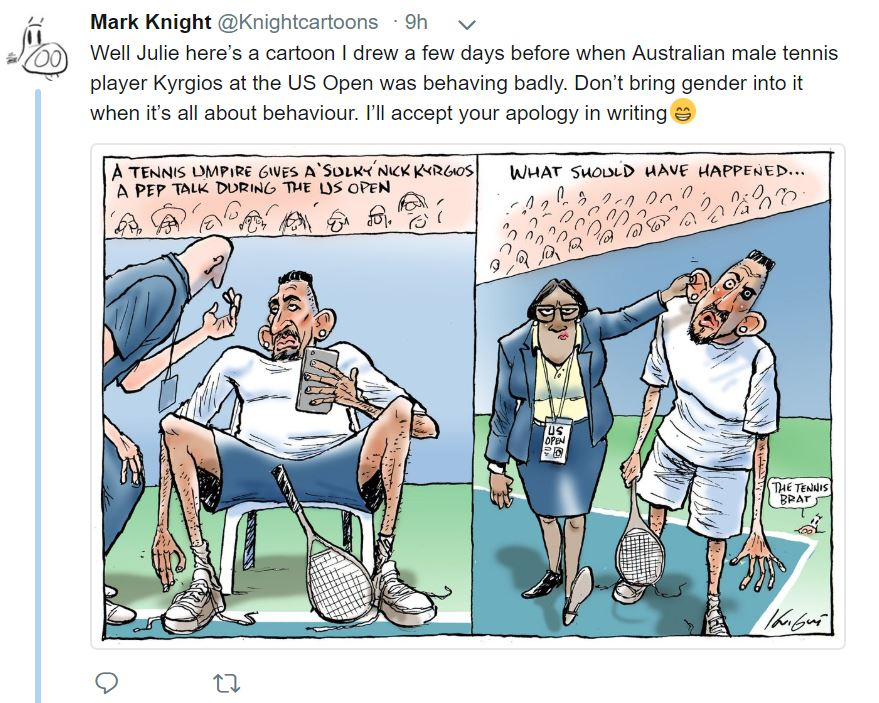 Mark Knight Krygios
