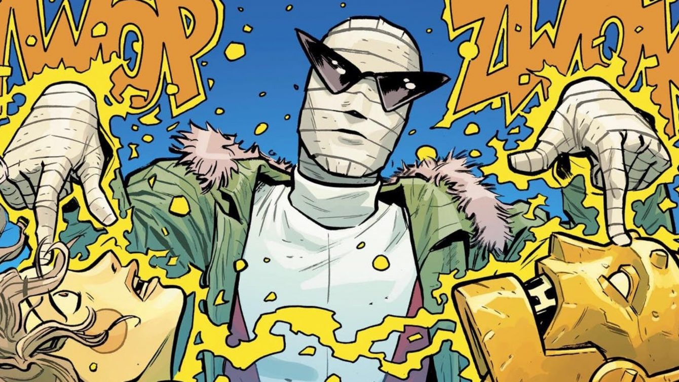 "Negative Man in ""Doom Patrol"" - DC Comics"