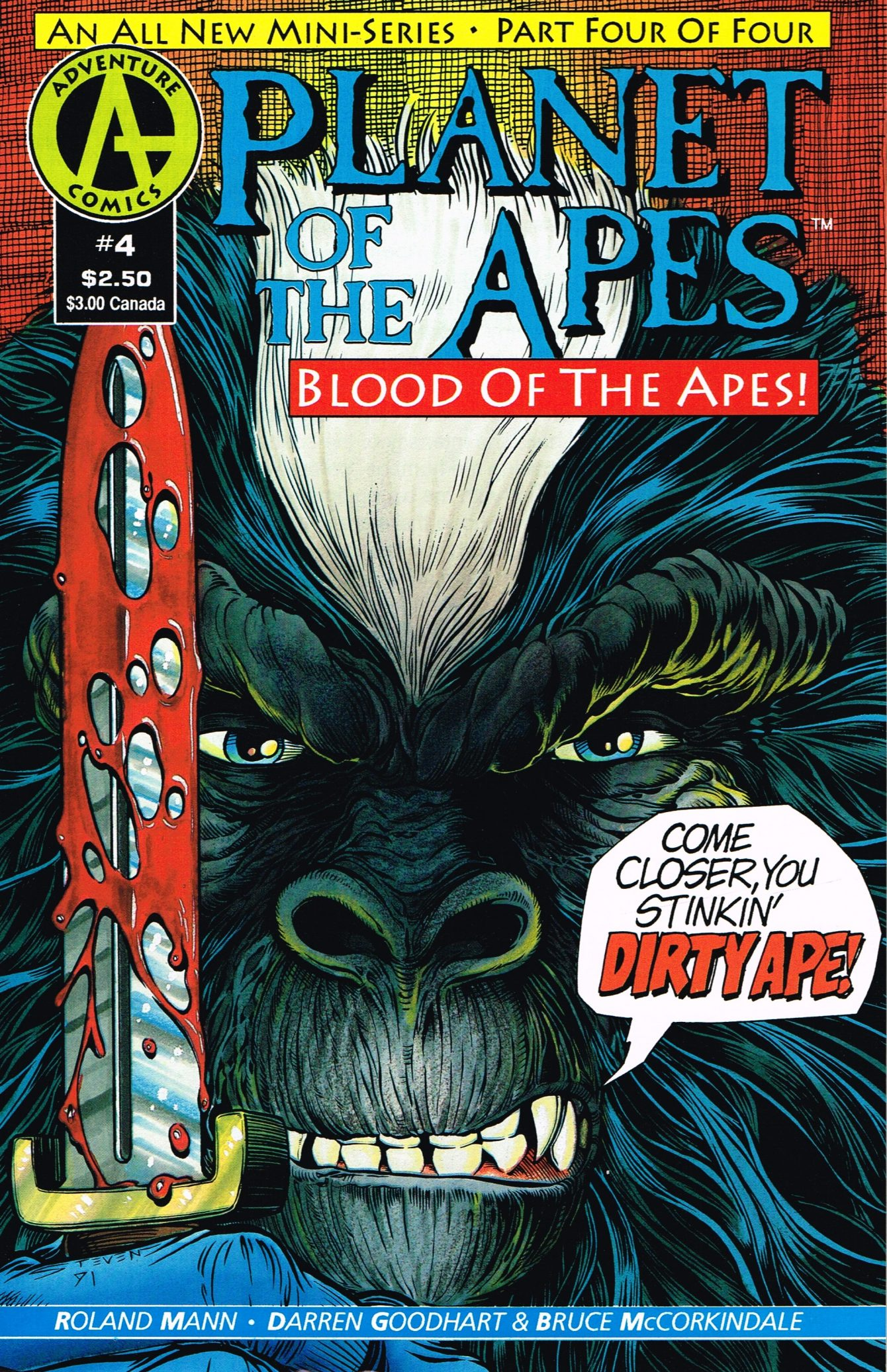Planet of the Apes: Blood of the Apes #4