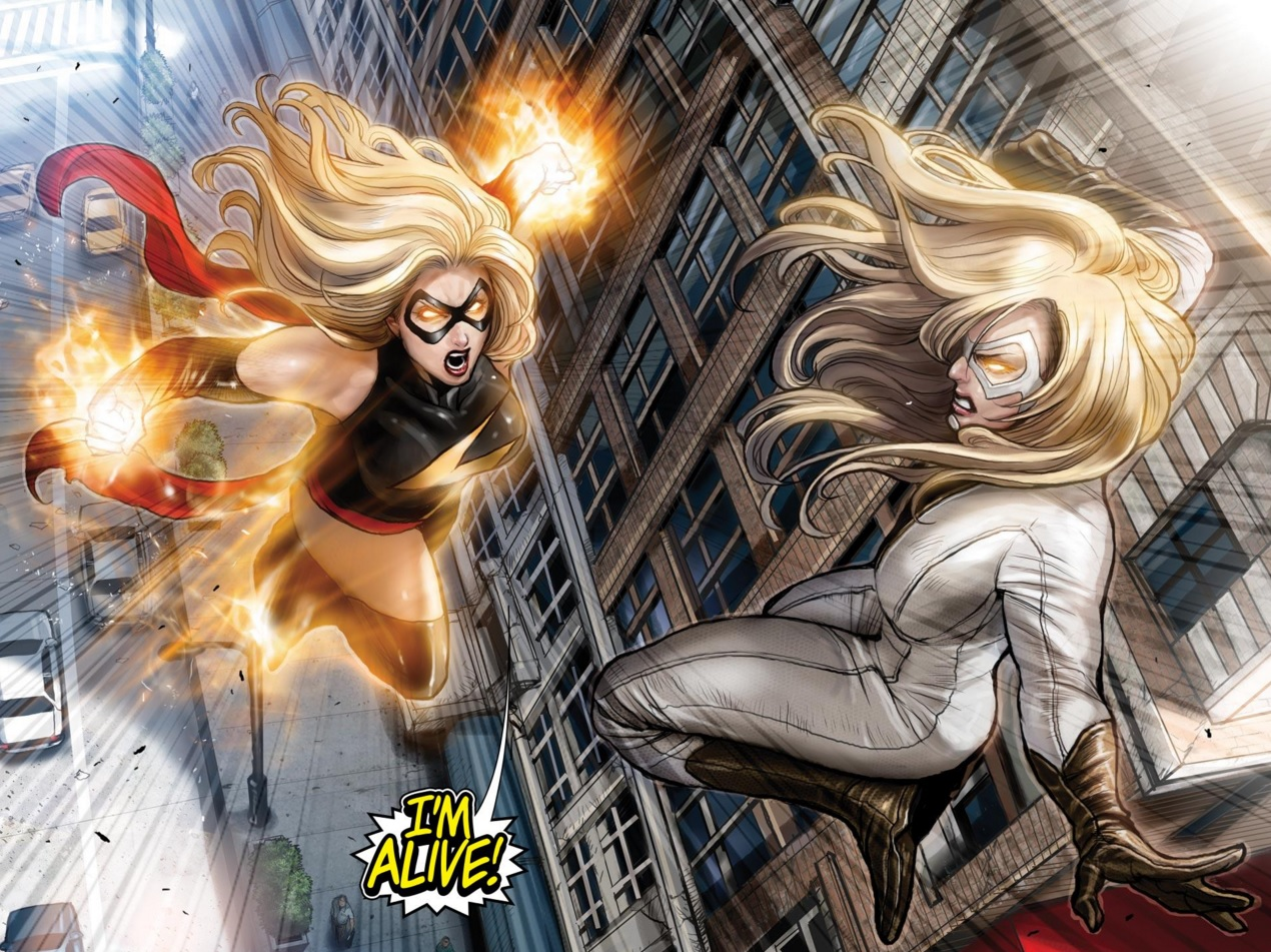 Ms. Marvel vs Moonstone