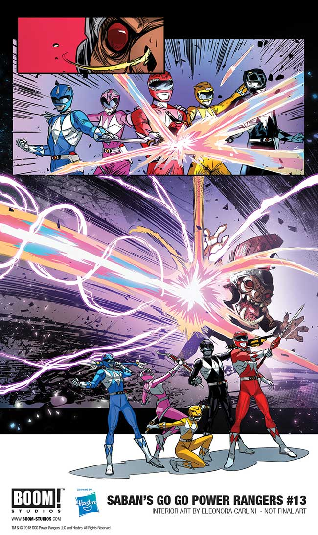 Go Go Powers Rangers #13