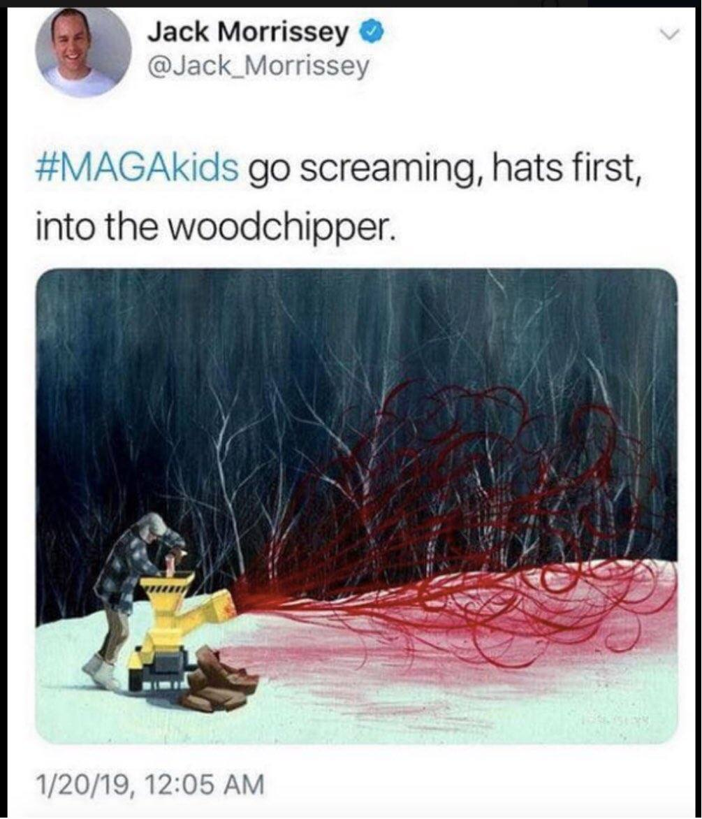 Jack Morrissey Tweet MAGA teens