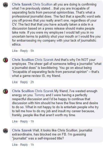 Chris and Chris last comments