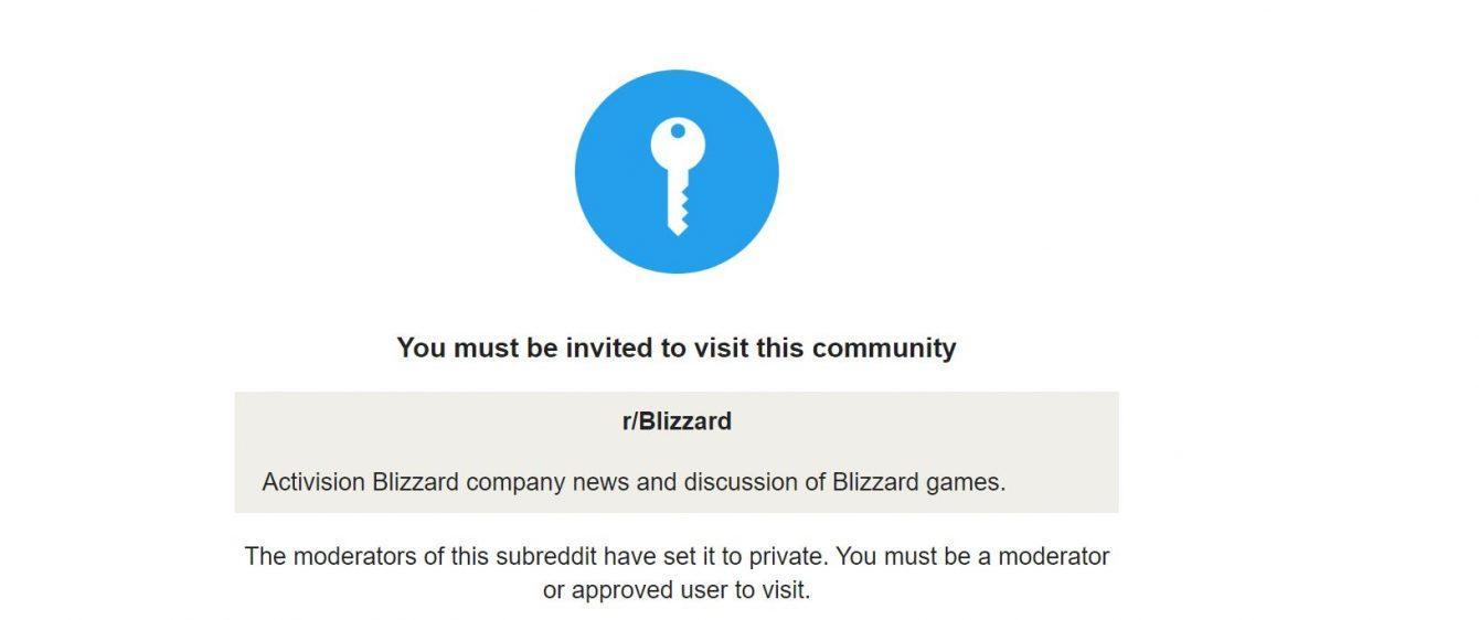 Blizzard Subreddit