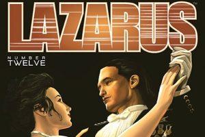 Lazarus #12 Cover