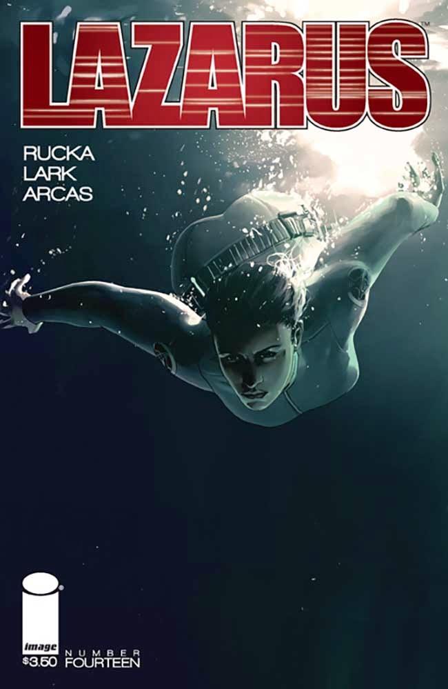 Lazarus #14 Cover