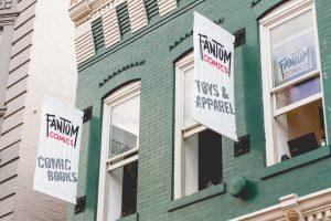 Fantom Comics in Dupont Circle, Washington D.C.