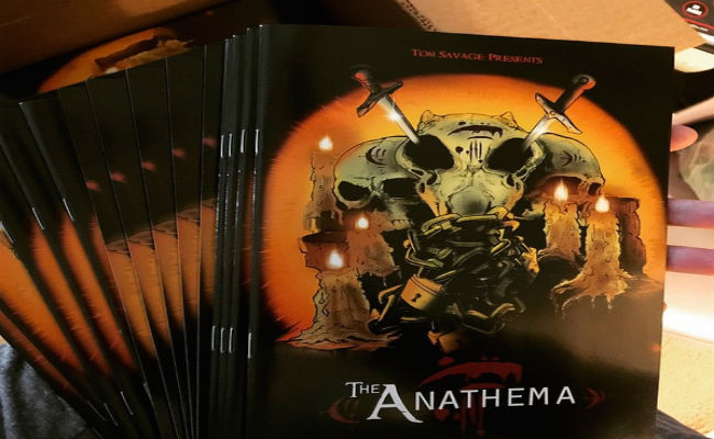 The Anathema Tom Savage KickStarter