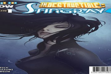 Indestructible Stingray #1 Cover