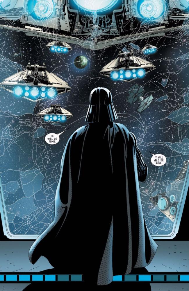 Star Wars' Darth Vader from Marvel's Darth Vader #6