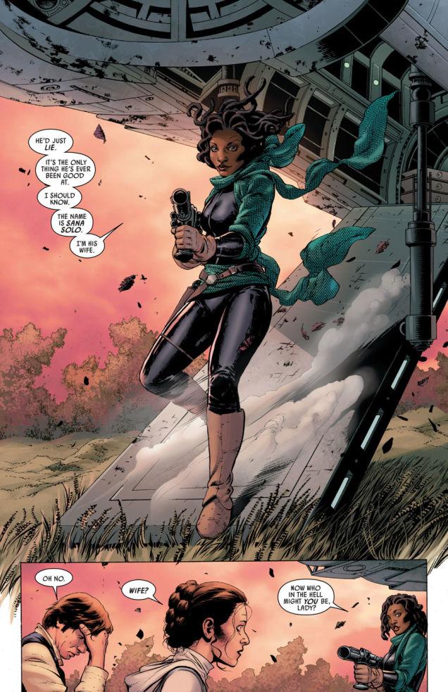 Sana Solo Star Wars #6 Marvel Han's Wife