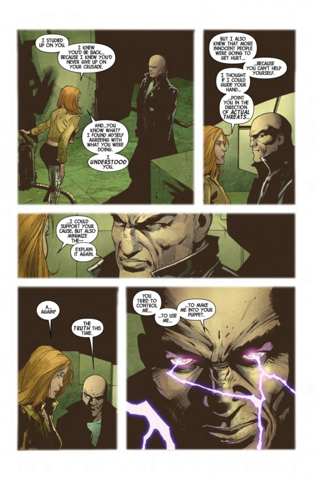 Magneto #20 Preview Page