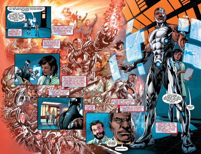 Cyborg #1 Preview Page
