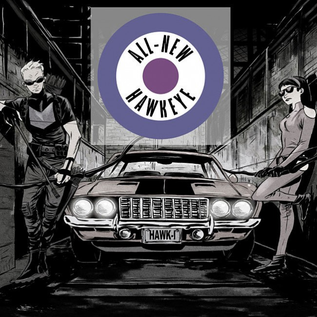All New Hawkeye Hip-Hop Variant Cover