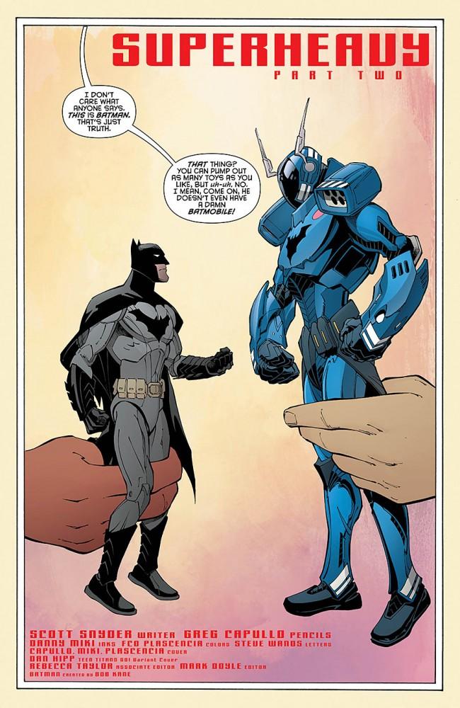 Batman 42 by Scott Snyder and Greg Capullo