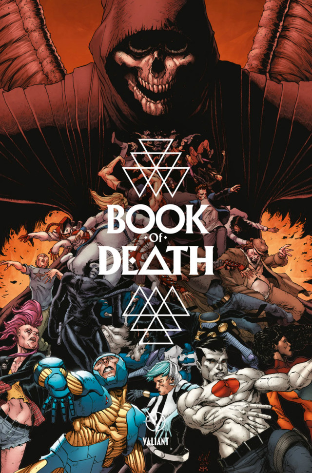 Valiant Comics Book of Death Cover-A Robert Gill