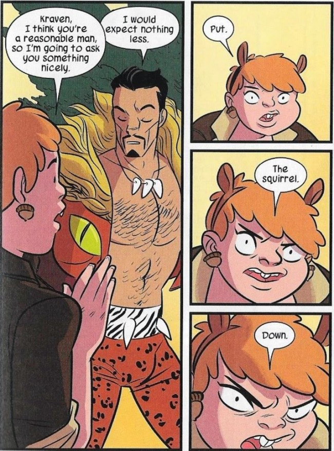 The Unbeatable Squirrel Girl #1 Kraven vs. Squirrel Girl