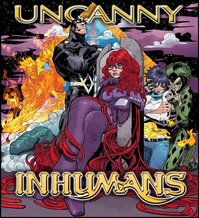 Uncanny Inhumans Hip-Hop Variant Cover