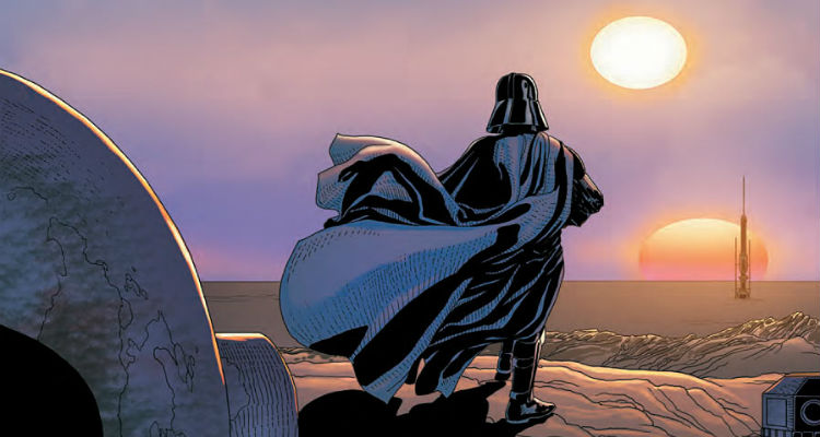 Darth Vader #7 by Kieron Gillen and Salvador Larroca published by Marvel