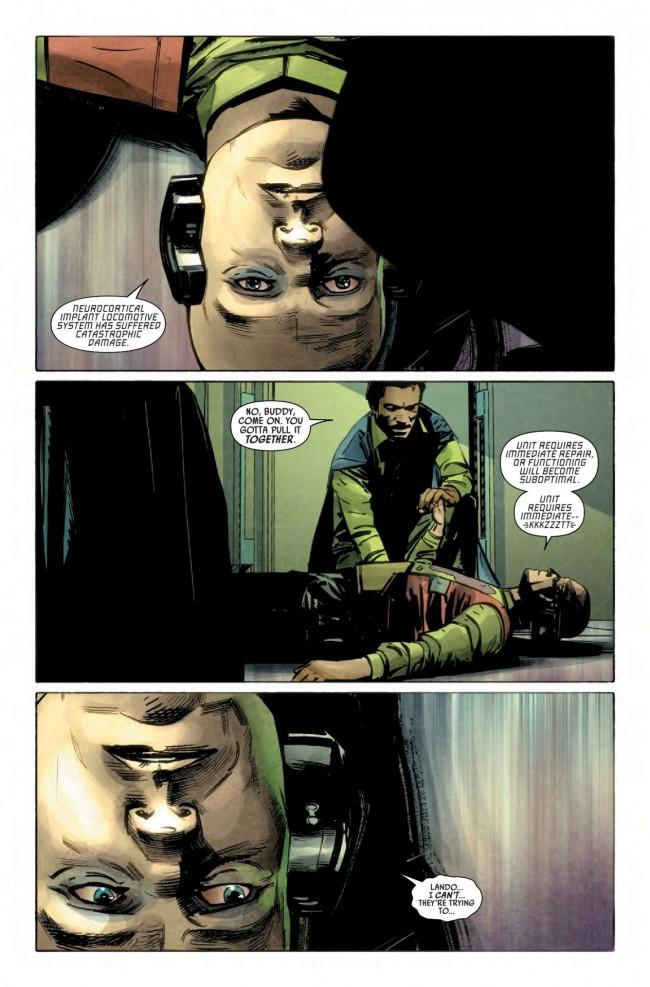 Lando #3 Preview Page
