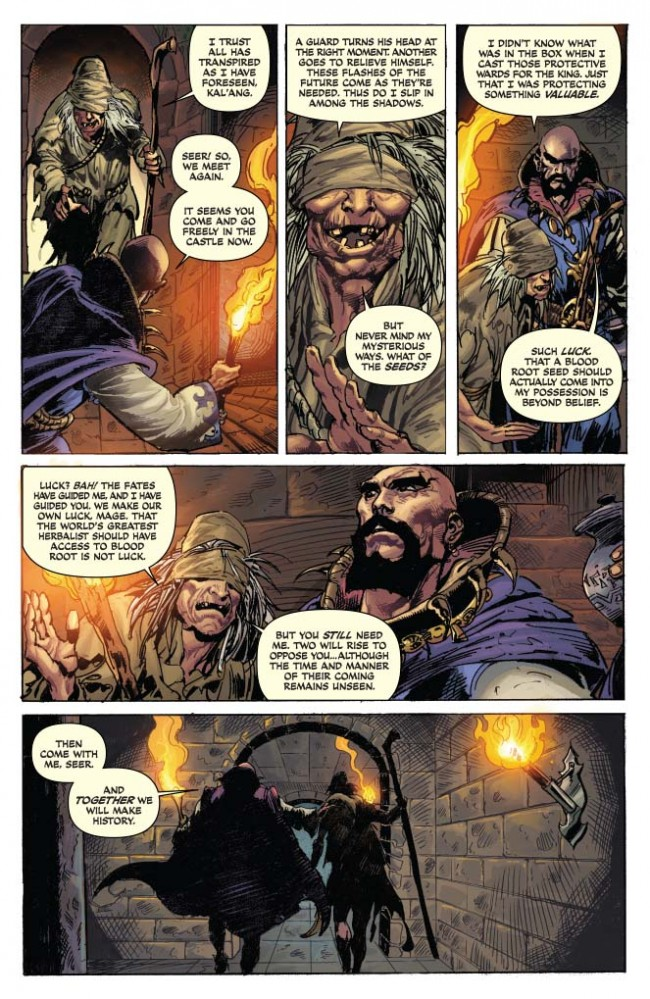 Red Sonja / Conan #1 Preview Page