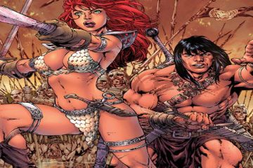 Red Sonja / Conan Cover B by Benes