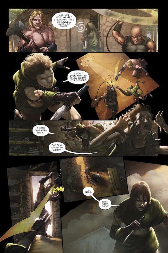 Sevara #2 Preview Page
