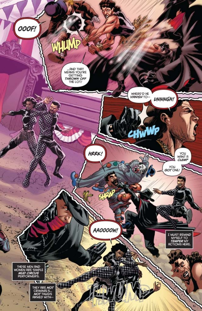 The Shadow Volume 2 #1 Preview Page