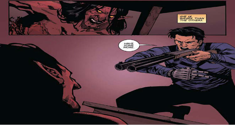 Vampirella/Army of Darkness Preview Page