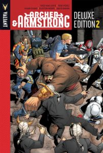 ARCHER & ARMSTRONG DELUXE EDITION BOOK 2 HC