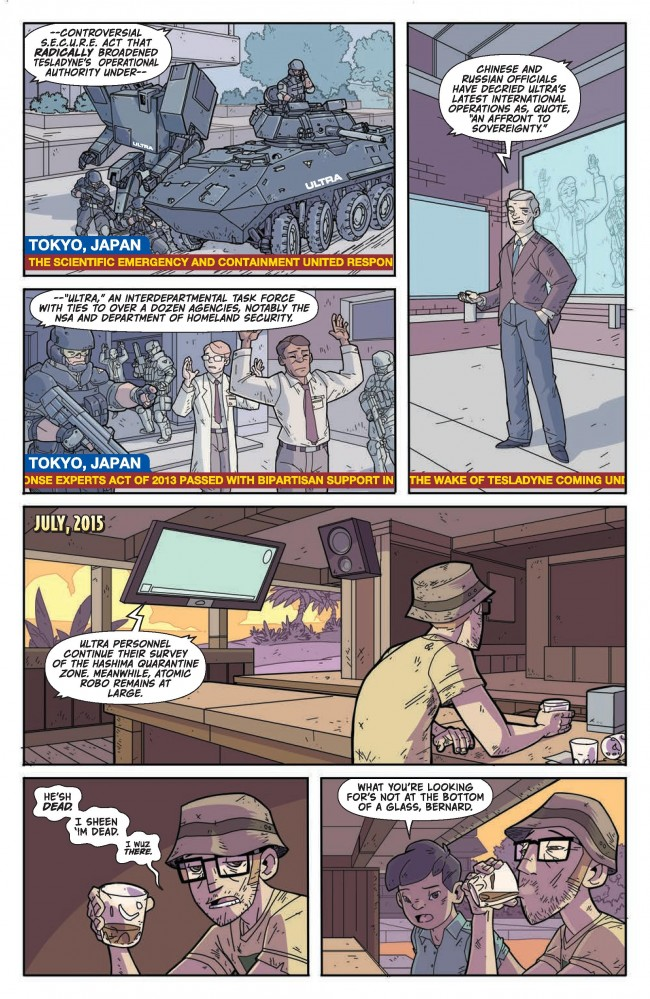 Atomic Robo The Ring of Fire #1 Preview Page