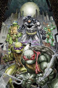 Batman / TMNT #1 Cover