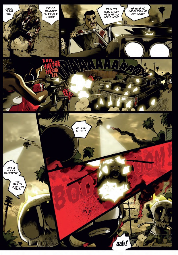 Mutafukaz Preview Page