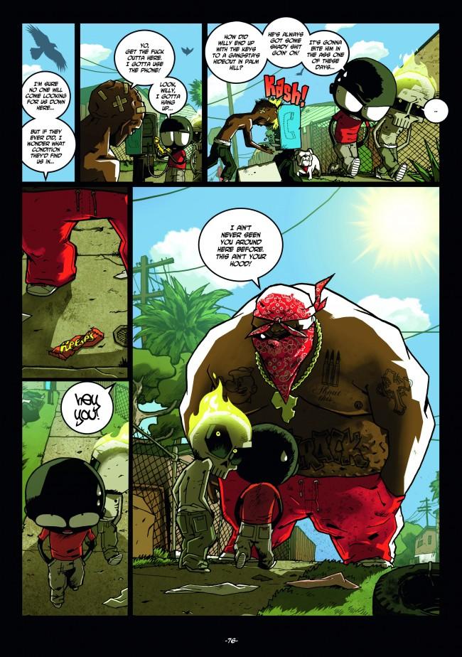 Comic Book Review Mutafukaz Bounding Into Comics