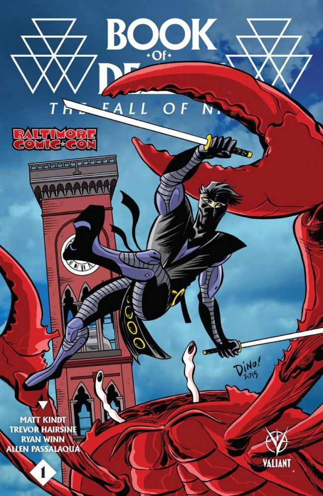 Book of Death The Fall of Ninjak #1 Baltimore Comic-Con 2015 Variant