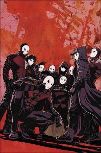 Robin War #1 Cover