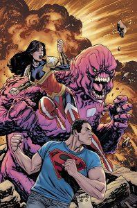 Superman / Wonder Woman #24 Cover