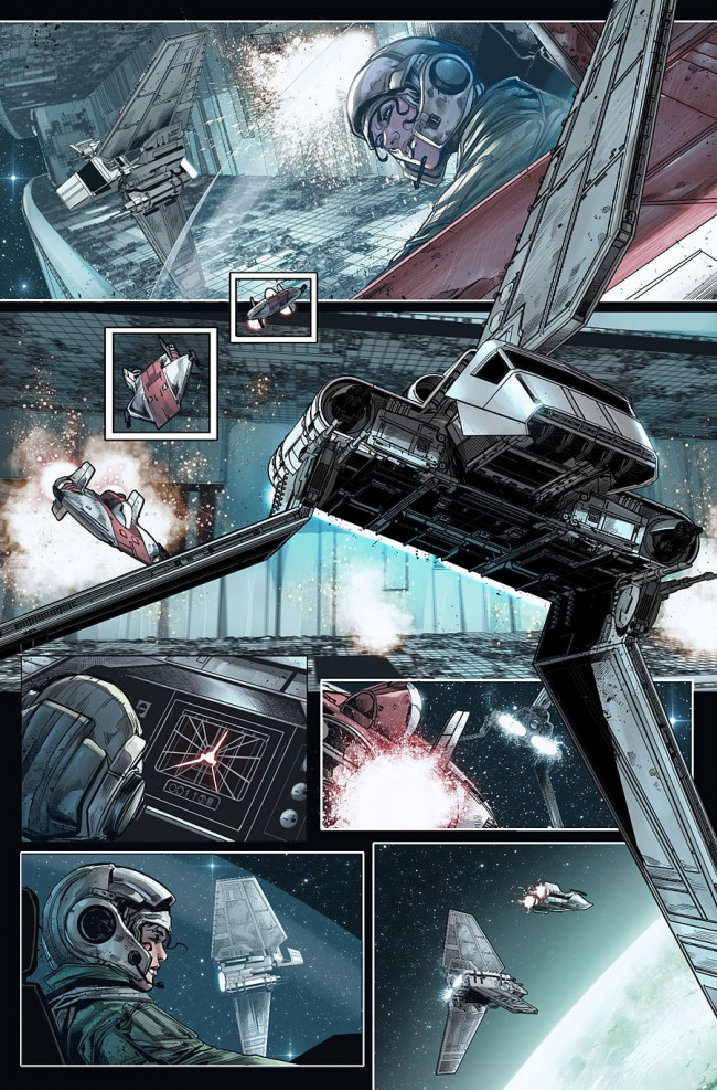 Shattered Empire #1 Preview Page