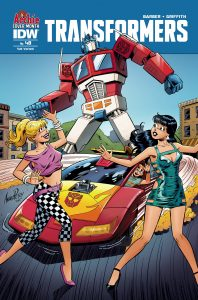 Transformers #48—Archie Anniversary Variant
